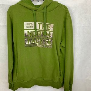 Mens The North Face hoodie sweater, size medium